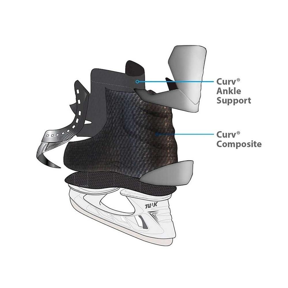 """Коньки хоккейные """"Bauer"""" S17 Vapor X800 (SR)"""